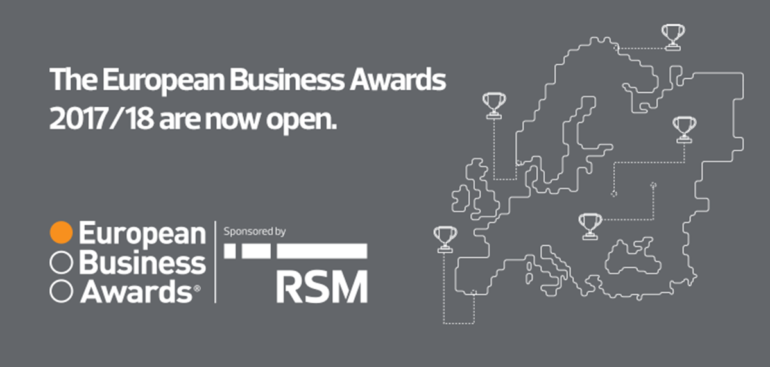 Last chance for best businesses in Europe to enter celebrated awards