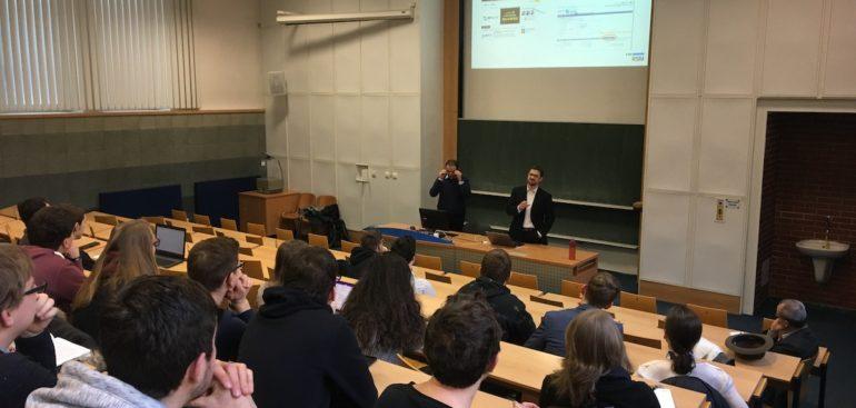 Přednášíme na Vysoké škole ekonomické vPraze (VŠE)