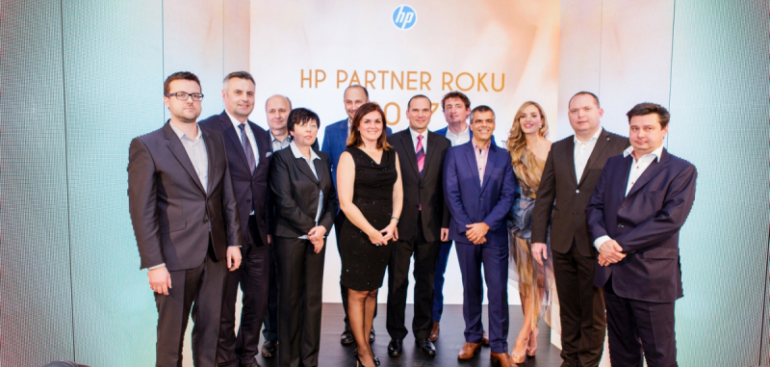 Jsme HP Partnerem roku 2017