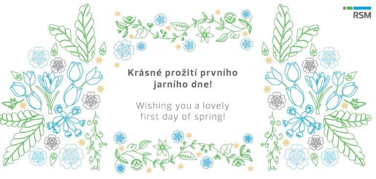 Zítra máme první jarní den! Je třeba radovat se z maličkostí! Tomorrow is the first spring day! We should cherish the little moments!