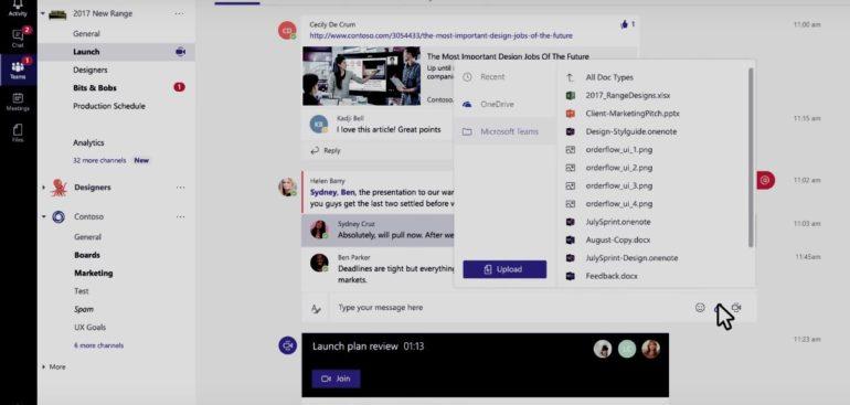 Nové prostředí Microsoft Teams pro usnadnění práce v týmu