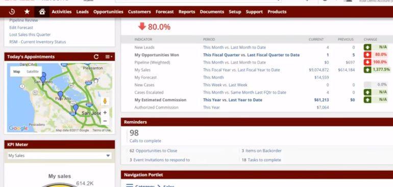 Krátké video představení NetSuite CRM