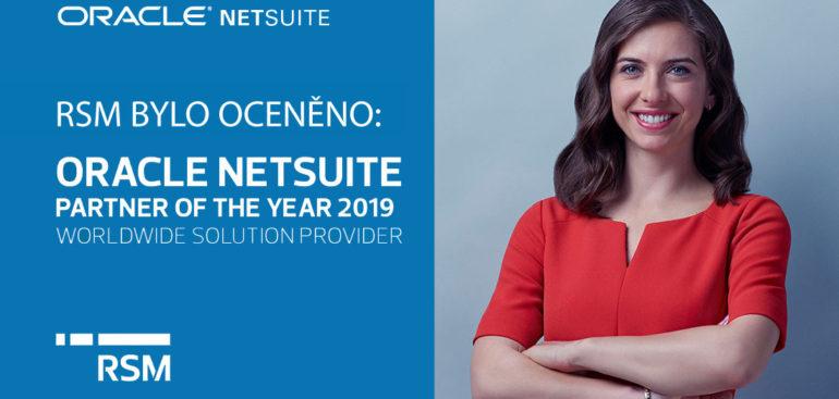 RSM je Netsuite partnerem roku 2019